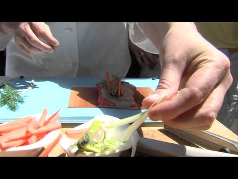 Essential Oil Marinated Grilled Salmon