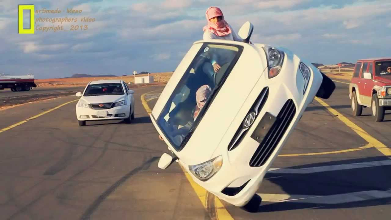 How To Flip Cars >> prohibited talent...in Saudi..crazy driving - YouTube