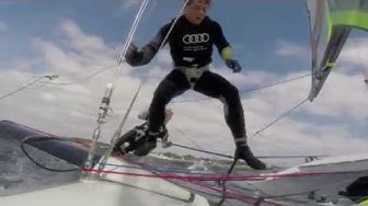 Kieler Woche 2014 - GoPro Moment of the day, June 23 // 49er Skiff