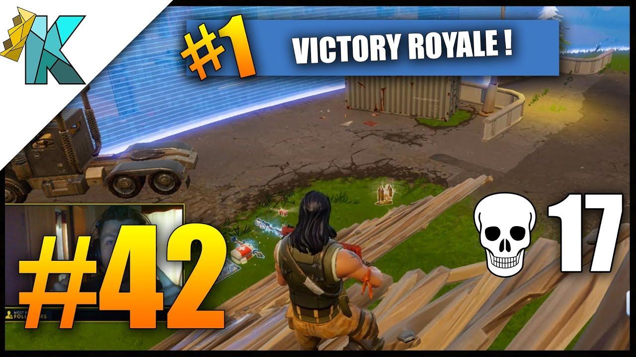 I M Lucky 17 Kills Fortnite Battle Royale Victory Gameplay