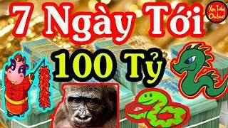 7 Ngày Cuối Tháng 12 Â.L 4 Con Giáp TRÚNG LỚN Ôm 100 Tỷ Trong Tay SẠCH NỢ Nần TẾT Đoàn Viên
