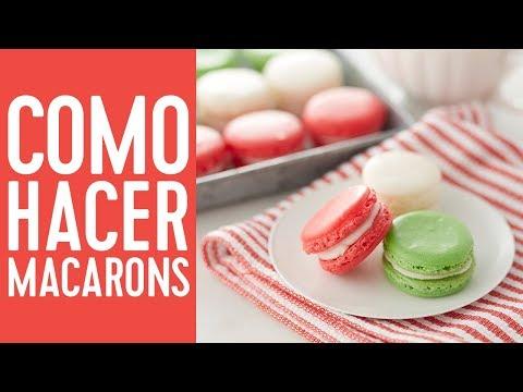 Cómo hacer Macarons
