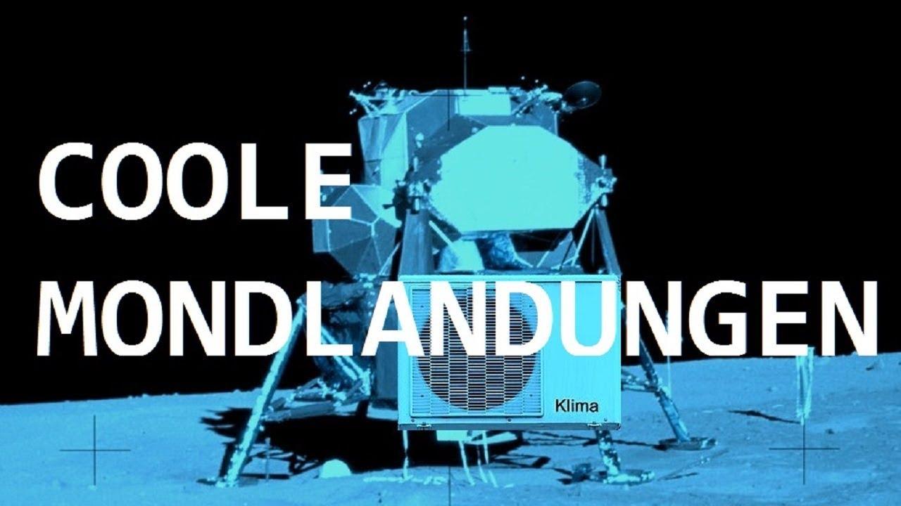 Coole Mondlandungen