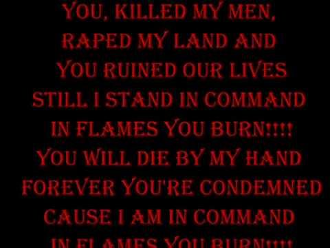 Dream Evil - In Flames You Burn Lyrics
