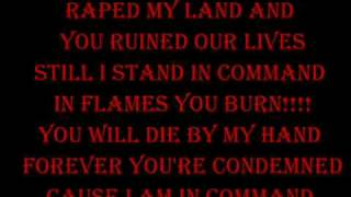 Dream Evil In Flames You Burn Lyrics