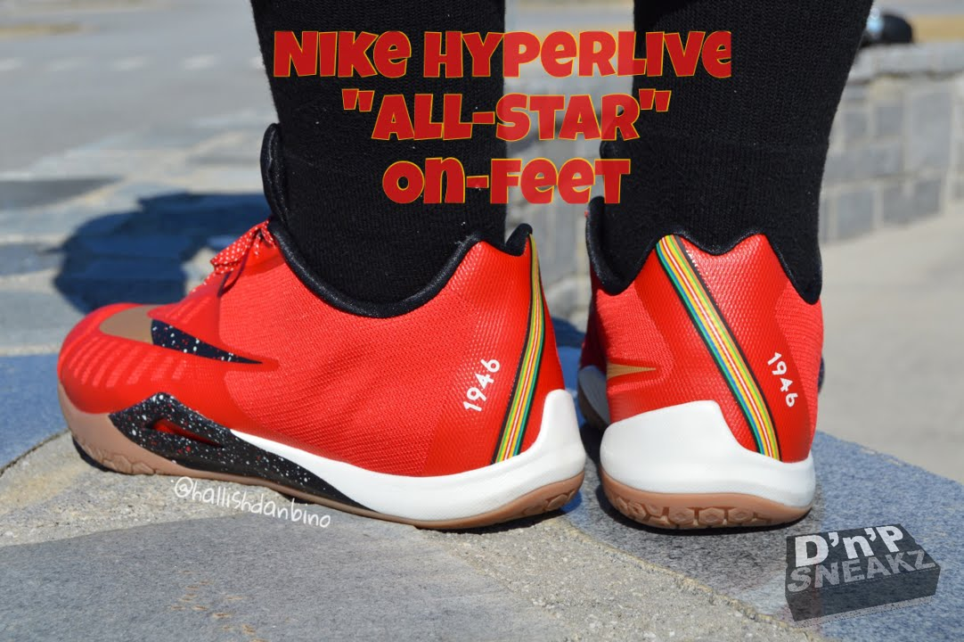 Nike Hyperlive On Feet