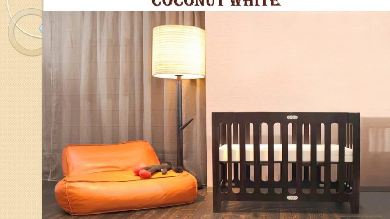 Bloom Alma Mini Crib (urban) Frame, Coconut White Guide & Reviews