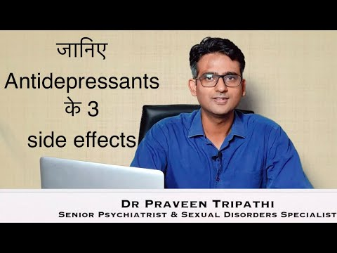 3 Important Side Effects Of Antidepressants & How To Deal With Them