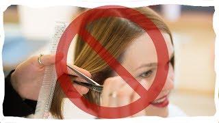 видео Почему беременным нельзя стричь волосы?