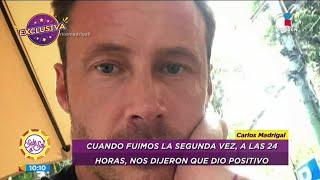 Carlos Madrigal perdió a su pa…