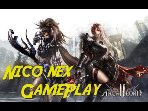 Nico Nex – Archlord 2 Gameplay Español