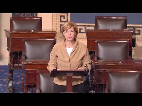 Senator Baldwin Speaks on Senate Floor on Her Opposition to Betsy DeVos