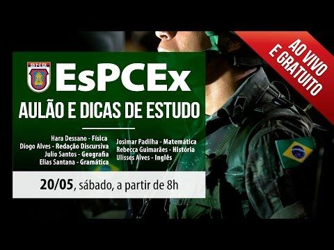 Enem: Concurso EsPCEx   Aulão e dicas de estudo (ProUni)