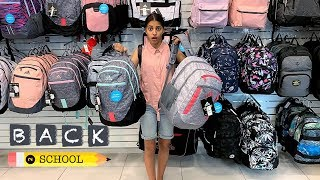 back to school shopping for Backpack