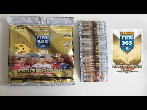 FIRST UK LOOK! ⚽ Panini ADRENALYN XL FIFA 365 (2020) Cards! | STARTER PACK OPENING! ⚽