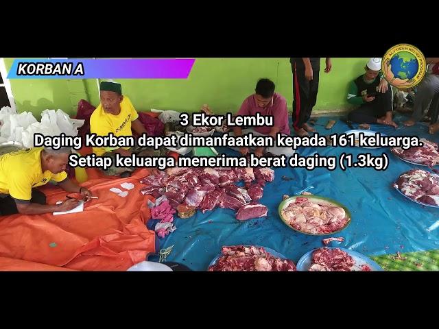 Program Korban/Akikah Malaysia Al-I'tisam Relief Program 2019/ 1440h