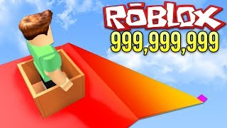 SPIDER-MAN 999,999,999 METERS UP AND DOWN!! - Roblox