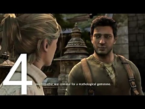 Uncharted 2 Among Thieves Walkthrough Part 4