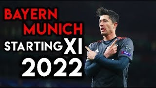 Bayern Munich's Starting XI in 2022 - According to Football Manager 2018