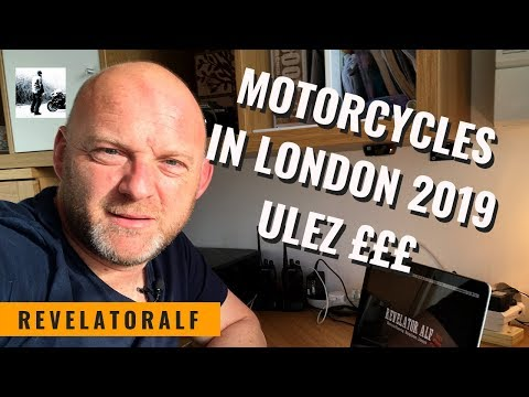 London Motorcycle Congestion Charge ULEZ 2019 (Things You Need To Know)
