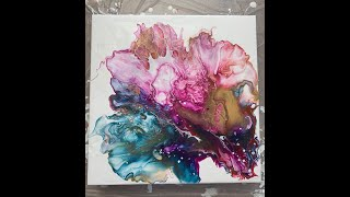 Dutch Pour method Acrylic Painting