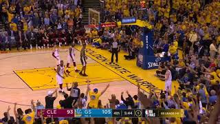 Kevin Love isolated against Stephen Curry