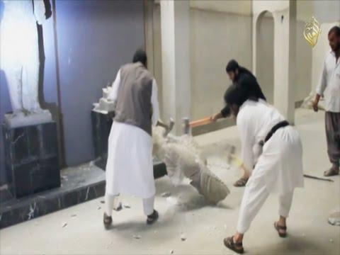 IS Militants Destroy Priceless Antiquities