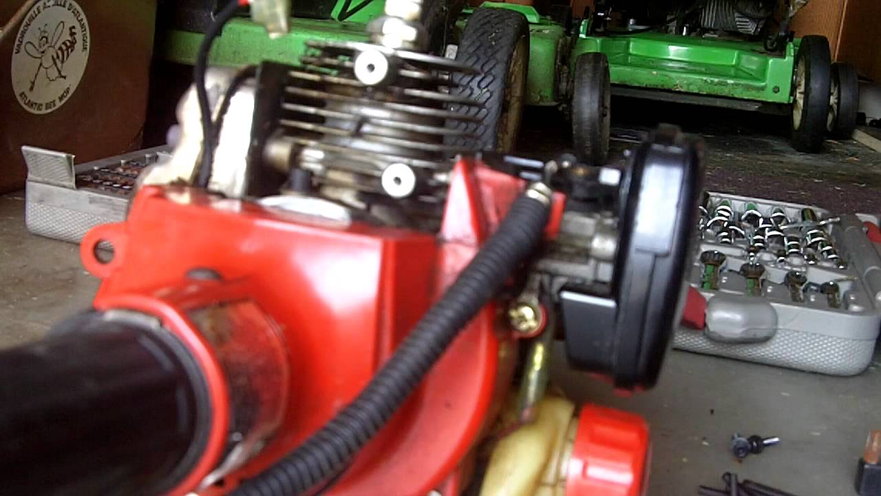 Ignition Coil  Primer Bulb Repair on a Shindaiwa 22F HomePro Trimmer  YouTube