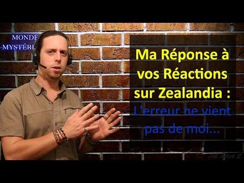 En Réponse à vos Réactions sur Zealandia...