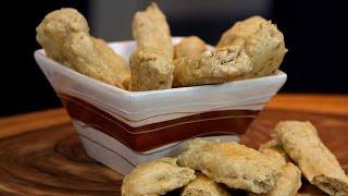 How to make EASY vegan bread sticks - No Knead Recipe!