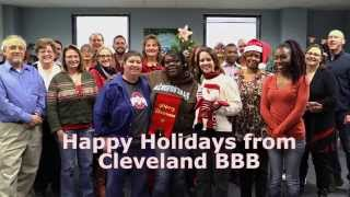 Happy Holidays from Cleveland BBB