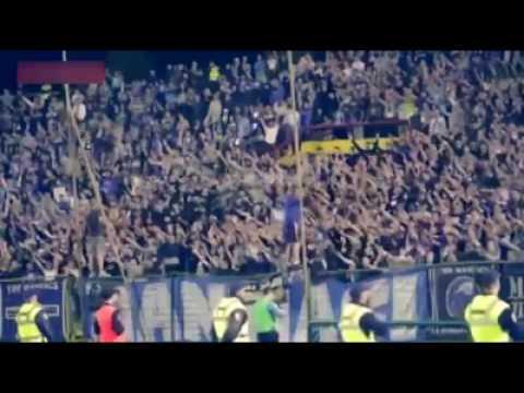 "Spanish fans chanting ""palestine"" at last nights match"