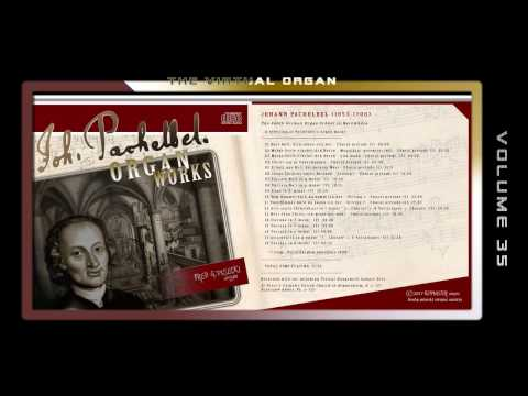 PACHELBEL ORGAN WORKS - Fred G. Pisecki, various organ Sample sets
