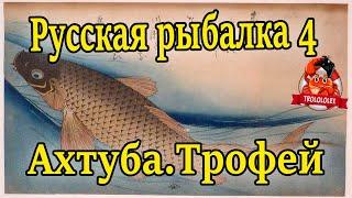 Русская рыбалка 4 Ахтуба Фарм Трофей