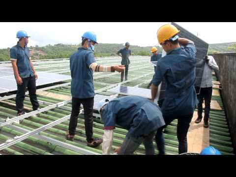 First Grid-Connected Sola Energy In Cambodia 2015