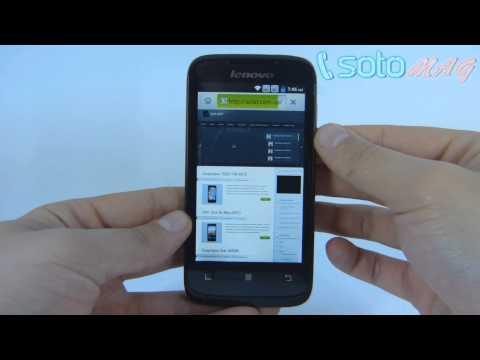 Обзор Lenovo A369i Dual SIM смартфон