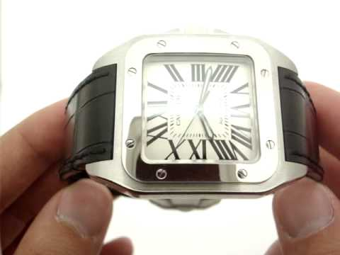 824d657d161 Cartier Santos 100 XL W20073X8 Swiss Automatic Mens Watch - YouTube