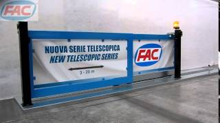 FAC Telescopic sliding gate Thumbnail