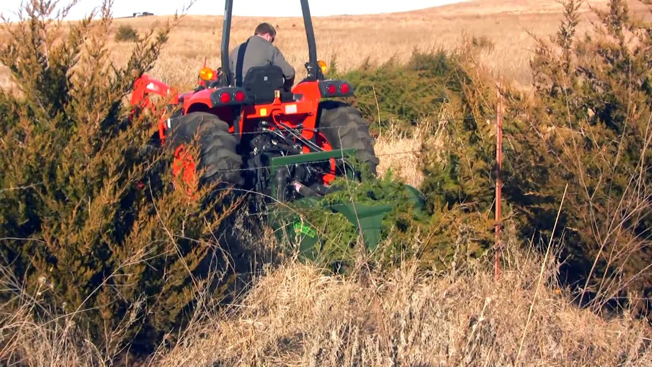 Turbosaw Tractor Saw With Grapple For Land Clearing And