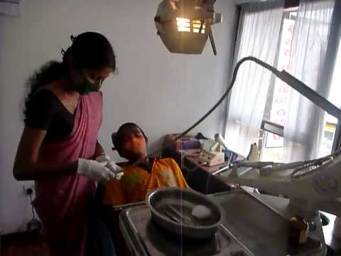 Sri Lanka,ශ්රී ලංකා,Ceylon,Private Dentist cabinet