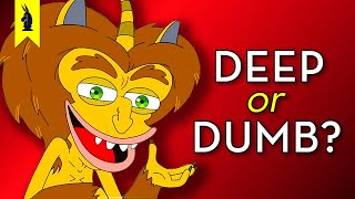 Netflix's BIG MOUTH: Is It Deep or Dumb? - Wisecrack Edition