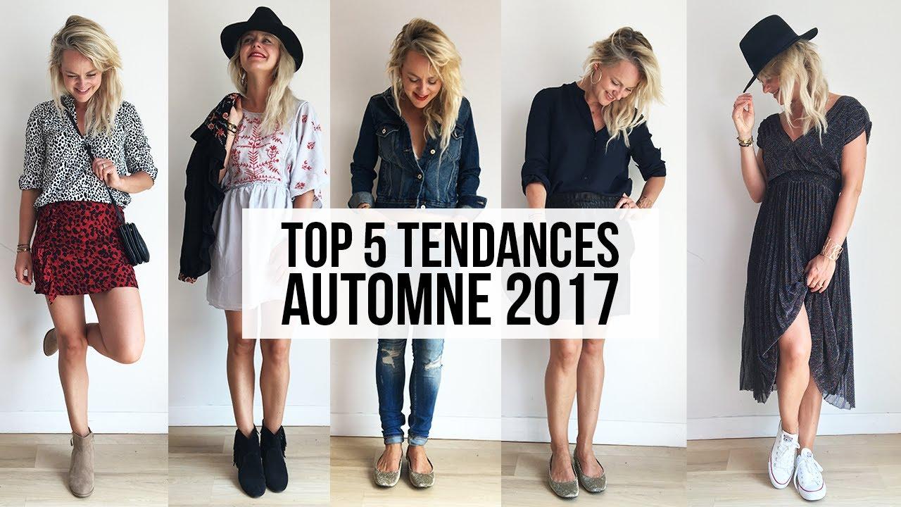 Top 5 des tendances automne 2017 look book rentr e 2017 et 5 looks youtube - Tenue automne 2017 ...