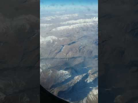 Zagros Mountains in Persia from Air  |  کوه های زاگرس از آسمان