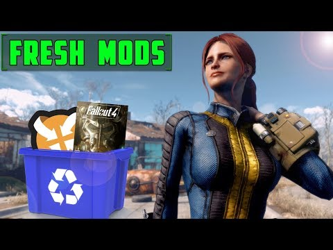 I DELETED ALL MY FALLOUT 4 MODS!!!! - CREATING MY CHARACTER