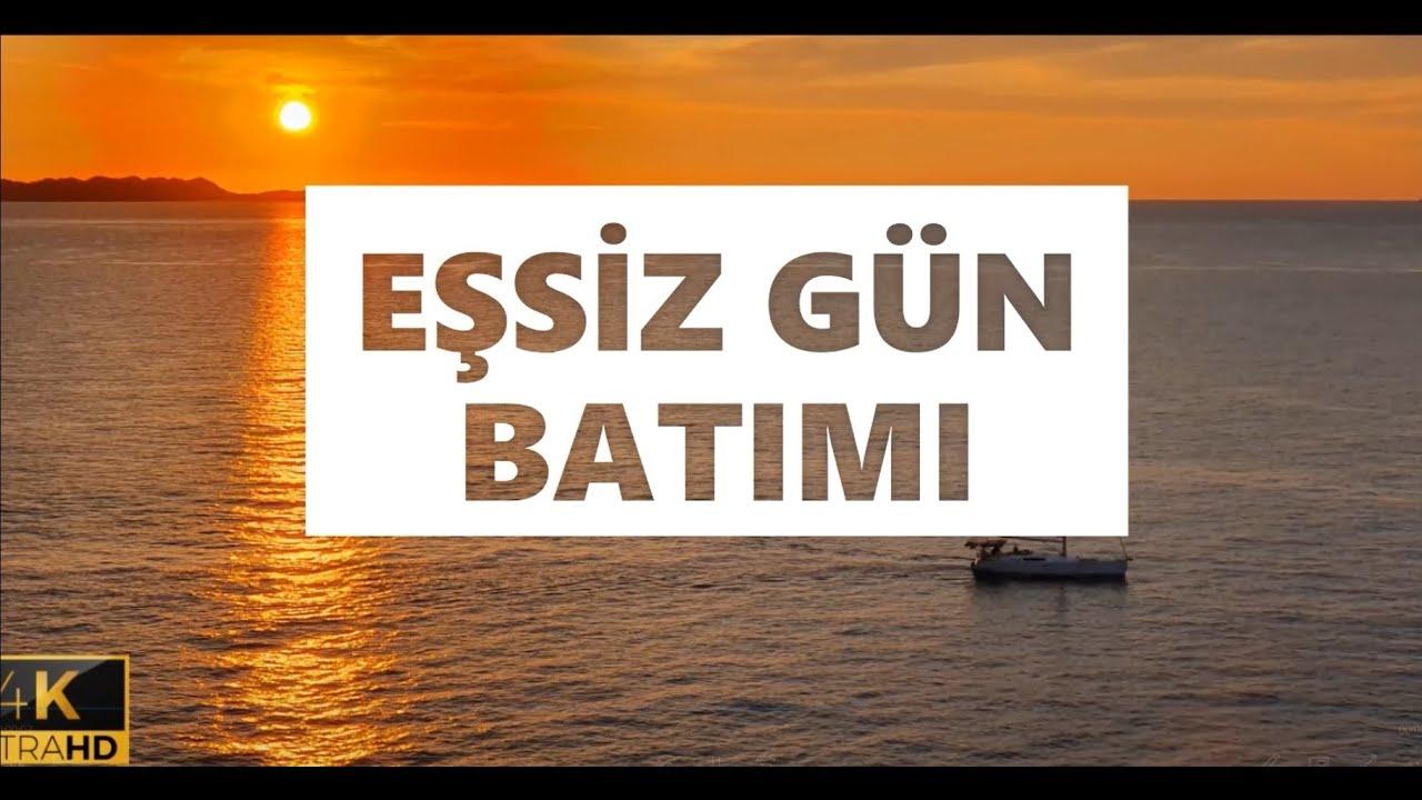MANZARA VİDEOLARI , MANZARA RESİMLERİ , DRONE , GUN BATIMI 4K ULTRA HD