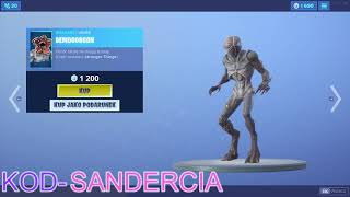 SKLEP FORTNITE 05.07.2019 NOWE SKINS STRANGER THINGS