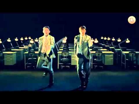 TVXQ is dancing and singing of ANDROID in Japanies commercial film 1