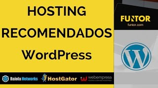 🔴 Hosting Recomendados WordPress | Servidores para WordPress