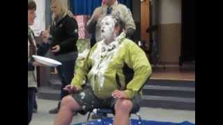 Cubmaster Pack 255 Gets a Pie in the Face - 2012 Thumbnail