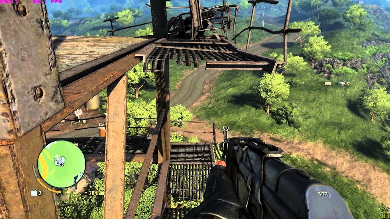 Far cry 3 | guide | gliding after hard radio tower youtube.